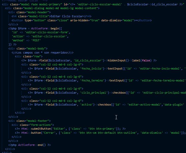 2020-07-24 13_09_28-_form_ciclo_escolar.php - qpass_escuelas - Visual Studio Code